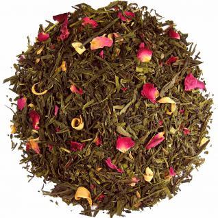 Grüner Pfirsich aromatisierter grüner Tee 250g