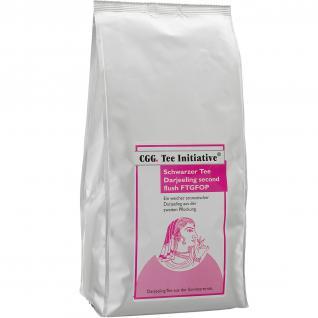 1 kg Tee Initiative Darjeeling FTGFOP second flush schwarzer Tee