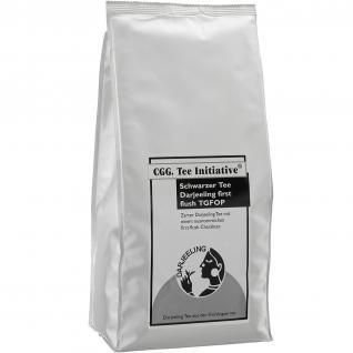 1 kg Tee Initiative Darjeeling first flush schwarzer Tee - Vorschau 1