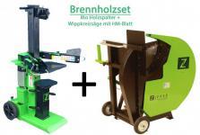 Zipper Holzspalter ZI-HS8PT + Wippkreissäge ZI-WP700H