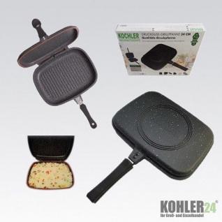 Kochler Druckguss-Grillpfanne Ø 34 cm Qualitäts-Druckpfanne