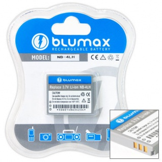 Akku accu battery für Canon NB-4L PowerShot SD750 SD940 SD960 TX1 neu