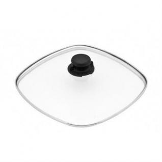 Lotus Sicherheits-Glasdeckel Ø 28cm für alle Pfannen inkl Deckelknopf Töpfe..