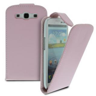 Für Samsung Galaxy S3/i9300 Handy Flip Case Tasche Hülle PinkTasche