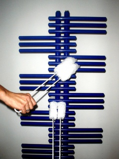 Mikrofaser Reinigungsgerät für Radiatoren & Röhrenheizkörper von Schwarz-Technik