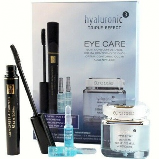 etre belle Hyaluronic Tripple Effect Eye Care Set Sofort Langzeit Lifting Effekt