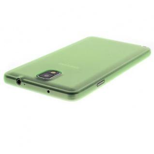 Für Samsung Galaxy Note 3 GRÜN Slim TPU Case Cover Hülle Schale Schutzhülle NEU!