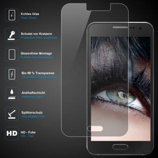 Premium Schutzglas für Samsung Galaxy A3, Echtes Glas, 0, 3mm, 99% transparent