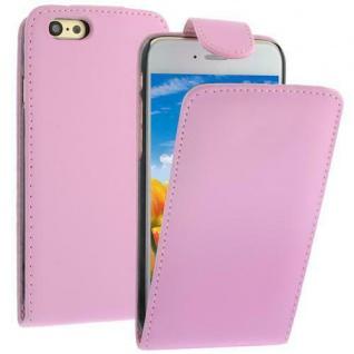 Flip Case für Apple iPhone 6 Pink Handytasche Kunstleder Tasche Smartphonetasche