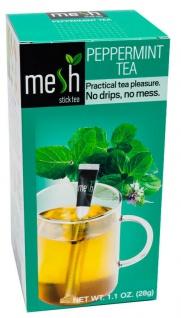 Mesh Stick Pfefferminz Tee 16 Stück -Tropft nicht, mit Stick umrühren, Genuss