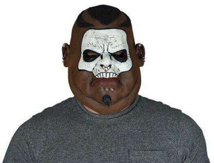 MKS Halloween Maske Kopf Über Shamane Latex - Schön schaurig und gruselig