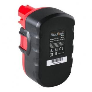 Werkzeugakku accu battery für Bosch Akkuschrauber BAT025, BAT026, GSB 18VE-2 - Vorschau 1
