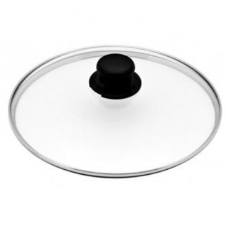 Gundel Guss-Kochtopf Ø 26 cm H-15cm mit Glasdeckel BIOTAN-Oberfläche Lotuseffekt - Vorschau 2
