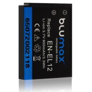 Akku accu battery für Nikon EN-EL12 Coolpix S9050 S9100 S9200 S9300 S9400 S9500