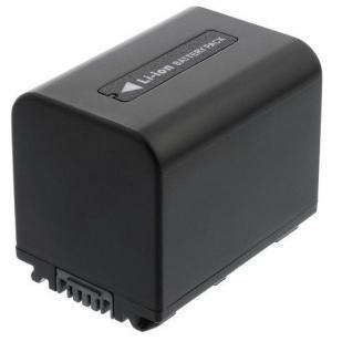 Akku accu battery für Sony NP-FV30; NP-FV50; NP-FV70, HDR-HC3E, DCR-SX15E blumax