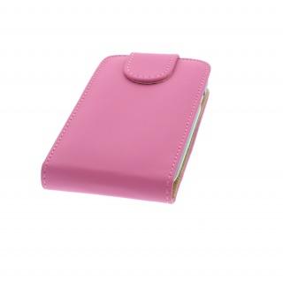 Handytasche für Samsung Galaxy S3 Mini / i8190 PINK - Kunstleder Tasche Case NEU