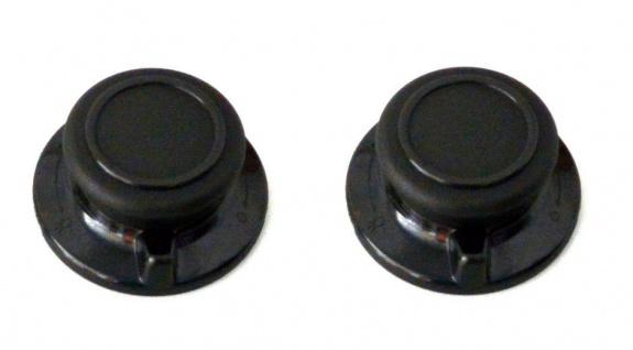 Universal 2x Deckelknopf m. Entlüftung für alle gängigen Pfannen/Topf/Glasdeckel