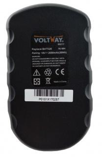 Werkzeugakku accu battery für Bosch Akkuschrauber BAT025, BAT026, GSB 18VE-2 - Vorschau 2