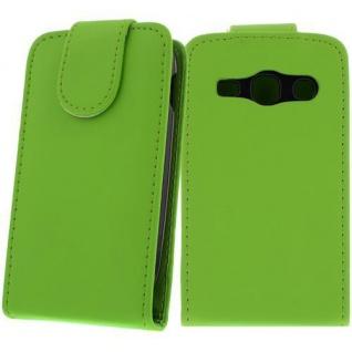 Handytasche für Samsung Galaxy S6810 Grün Case Cover Bumper Etui Smartphone NEU