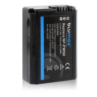 Akku accu battery für Sony NP-FW50 mit Li-Ion und 1030mAh von Blumax neu