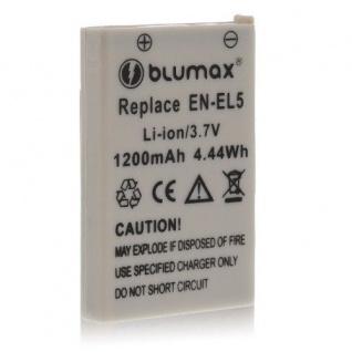 Akku accu battery für Nikon EN-EL5, Coolpix P100; Coolpix P3; Coolpix P4 blumax