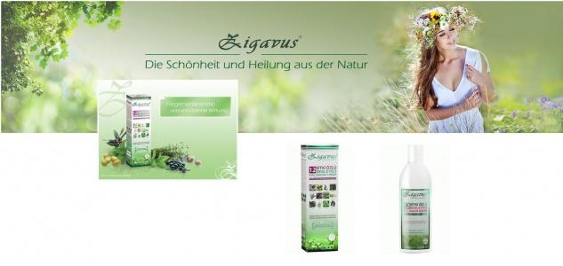 Zigavus Nutritive 12 Kräuter Haarspülung Haarkur 250ml Dermatologisch getestet!