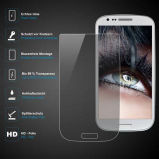 Premium Schutzglas 0, 3mm für Samsung Galaxy S3 Mini Echtes Glas, transparent NEU