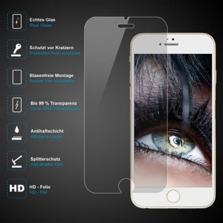 Premium Schutzglas 0, 3mm für Apple iPhone 6 PLUS Echtes Glas bis 99% transparent