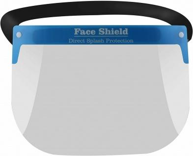 100x Gesichtsschutzschild Visier Gesichtsschutz Schutzschild Gesichtsvisier - Vorschau 5