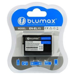 Akku Accu BLUMAX für Nikon EN-EL15 Nikon V1, D7000, D8000 D800E, Nikon 1 V1, D600