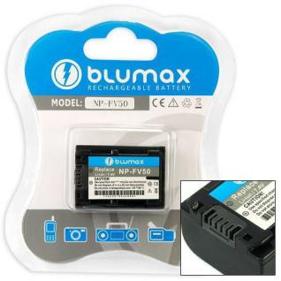 Akku accu battery für Sony NP-FV50, NP-FV30, HDR-SR10, HDR-UX10, HDR-HC3 blumax