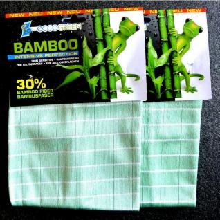 eccoGREEN 2x Bambus Intensivtücher Reinigungstuch Striefenfrei Antibakteriell - Vorschau