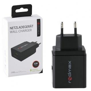 Redmax Netzladegerät für Smartphones, Tablets, Powerbanks und Bluetooth Geräten