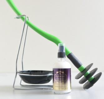Mr Sanitär Grün +Zubehör+ POPOPOO Toilettenspray / Lavendel-Vanille Duft