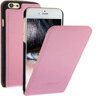 Flip Case Thin Ledertasche für Apple iPhone 6 Pink Handytasche Smartphone NEU