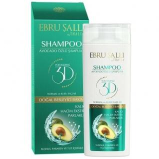 Avocado Öl Haarpflege Shampoo für trockene und Haare 300 ml Ebru Salli
