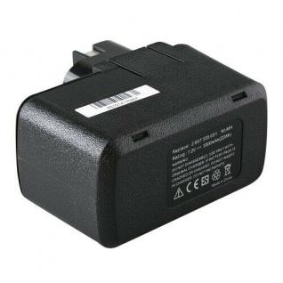Werkzeugakku accu battery für Bosch Akkuschrauber PSR7.2VES, PSR7.2VES-2, 335 - Vorschau 2
