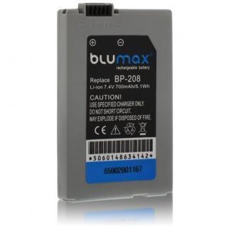 Akku accu battery für Canon BP-208, BP-208DG, DC10, DC19, DC20, DC21 Blumax
