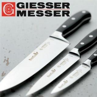 Giesser Messer BestCut Kochmesser Set 3-tlg. Officemesser Tranchiermesser 9840bc
