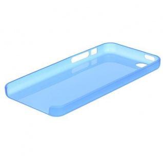Schutzhülle für Apple iPhone 5 SE, 5C, 5S TPU/Cover/Bumper/Schale/ Blau