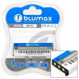 Akku accu battery für Casio NP-50 mit Li-Ion von Blumax neu