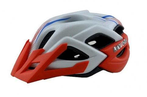 KED Fahrradhelm LEV Status Jr. Red White Matt Größe S (Kopfumfang 46-51 cm)