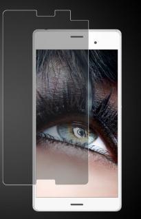 Premium Schutzglas für Sony Xperia Z3 Compact, Echtes Glas 0, 3mm, 99%transparent