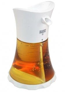 Kuhn Rikon Öl/Essig Spender Weiß, einfache und stylische Aufbewahrung!