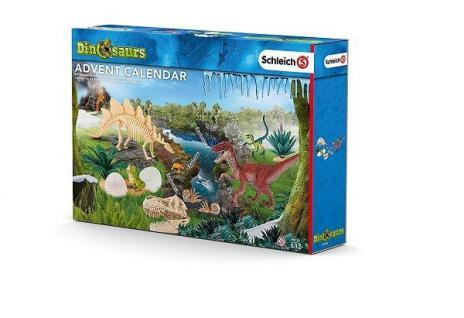 Schleich Adventskalender - Dinosaurier - mit zwei exclusiven Raptoren!!!