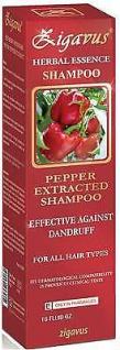 Zigavus Pfeffer Extrakt Shampoo 150ml gegen Schuppen! Haarpflege! Anti Schuppen!
