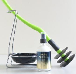 Mr Sanitär Limettengrün +Zubehör+ POPOPOO Toilettenspray Lemon-Vanille