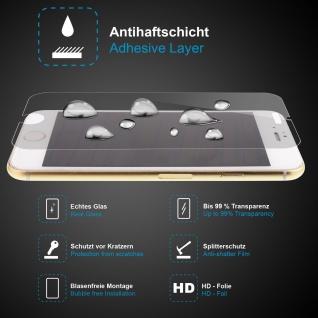 Premium Schutzglas für LG G3, Echtes Glas, 0, 3mm, 99% transparent, HD-Folie, NEU