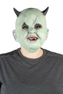 MKS Halloween Maske Kopf Über Baby Teufel Latex - Schön schaurig und gruselig
