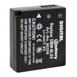 Akku Accu Battery für Panasonic DMW-BLE9 Lumix DMC-GF3W, DMC-GF3T, DMC-GF3R